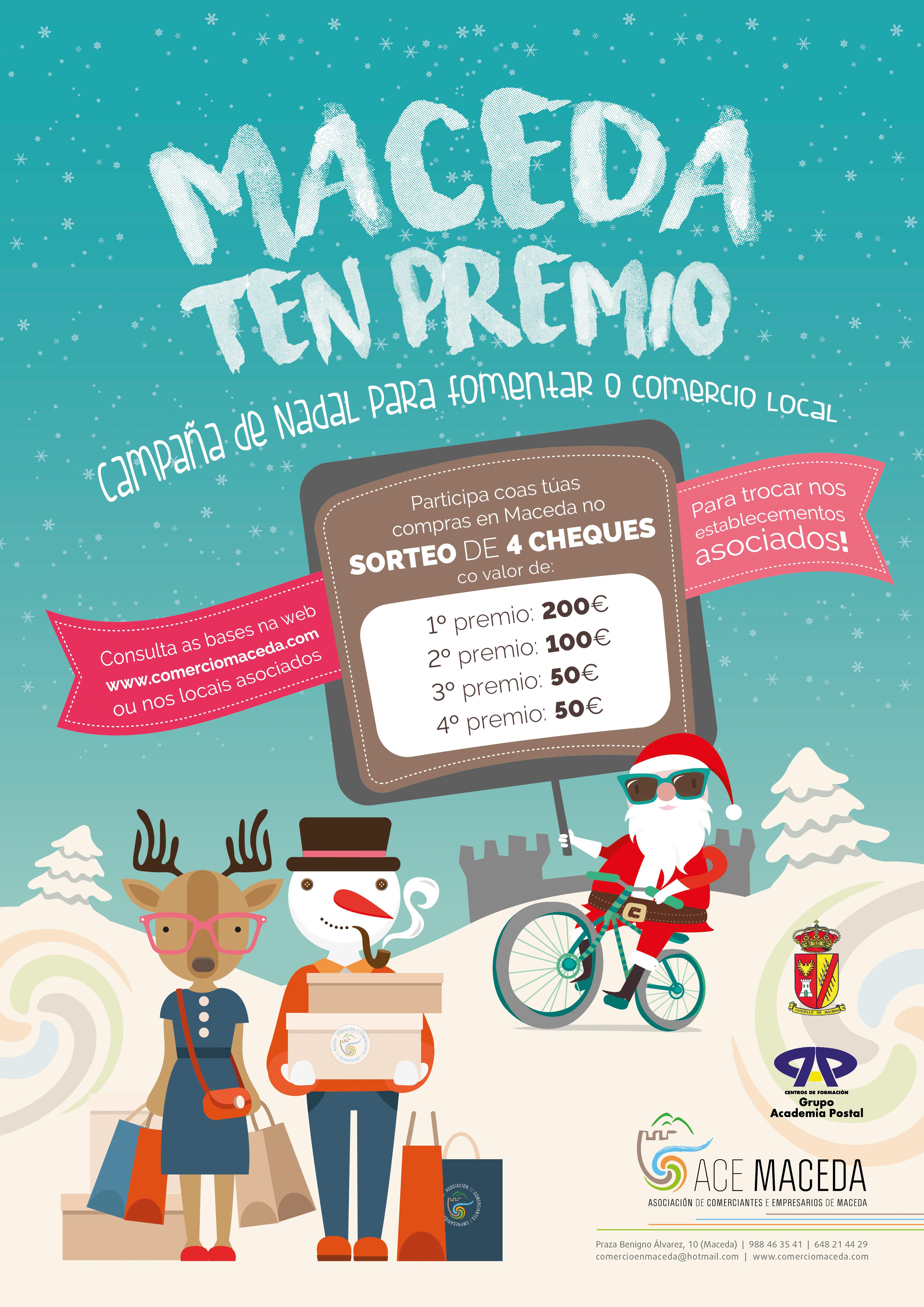 Sorteo Campaña de Nadal 2018 @ Maceda